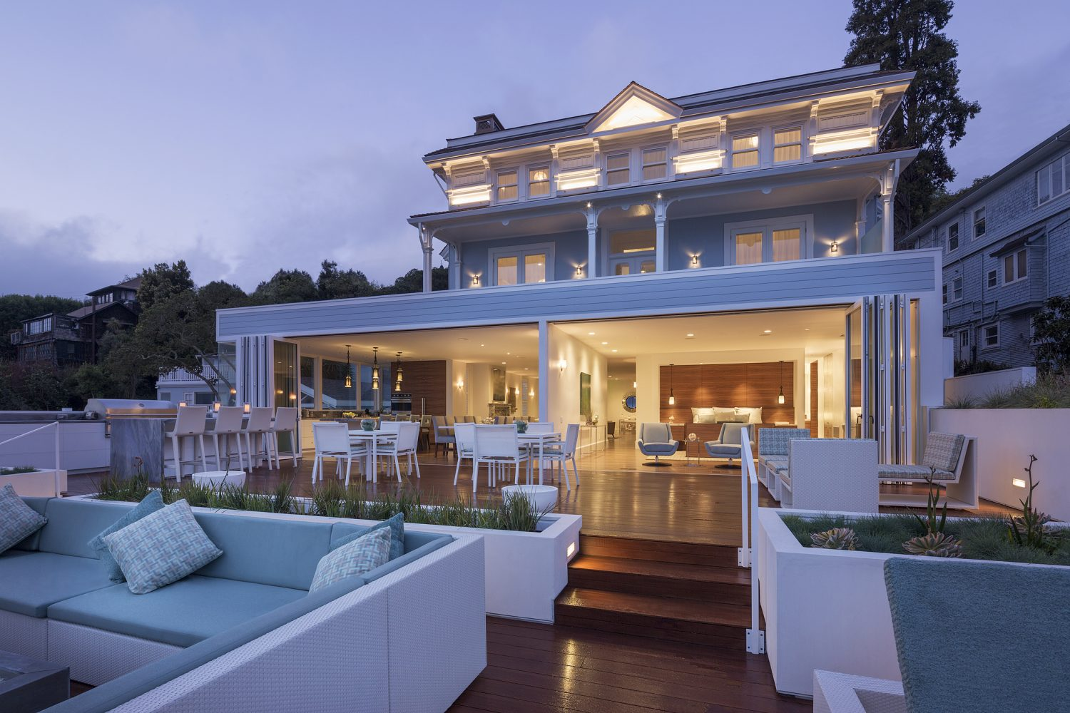 the mansion at casa madrona hotel spa is waterfront