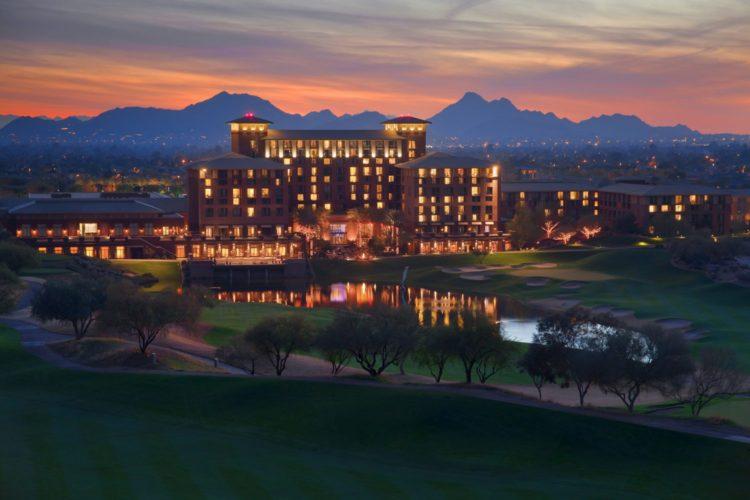 The Westin Kierland Resort & Spa at dusk