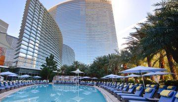 Get Pampered Poolside at Aria Resort & Casino's New Sky Pool in Las Vegas