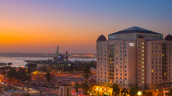 Rejuvenate With Your Loved One at Embassy Suites San Diego Bay – Downtown