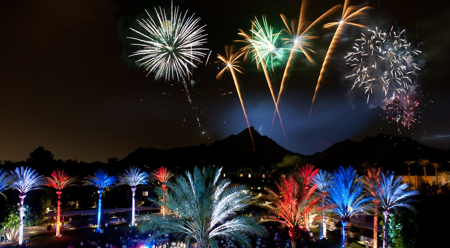 Celebrate fourth of july at the arizona biltmore for What is celebrated on the 4th of july