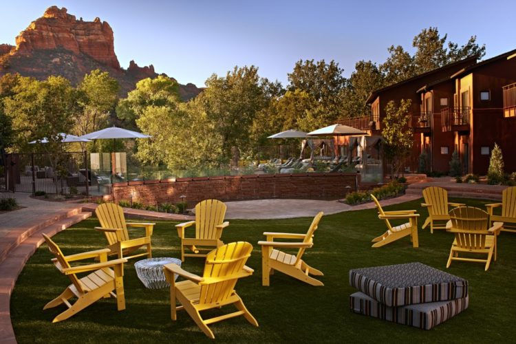 Courtyard at Kimpton's Amara Resort Sedona