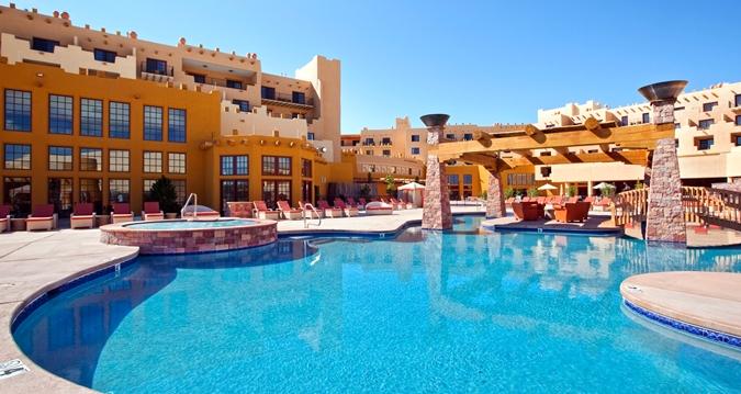 hilton santa fe pool