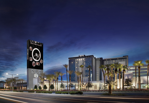 The W Hotel on the Famous Las Vegas Strip