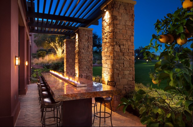 Deseo patio at Westin Kierland Resort & Spa
