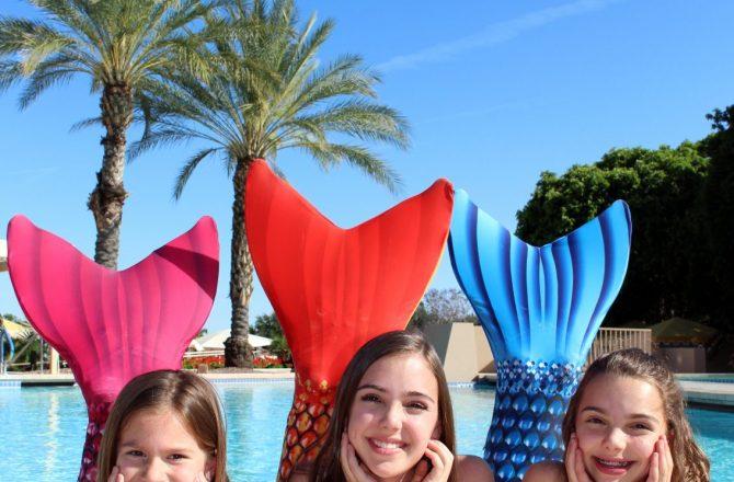 Become a Mermaid at The Phoenician's 'AquaMermaid' School