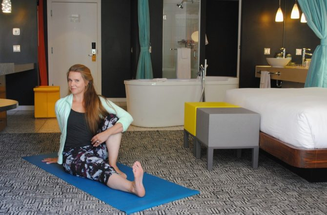 Namaste With Hotel Valley Ho's New In-Room Yoga