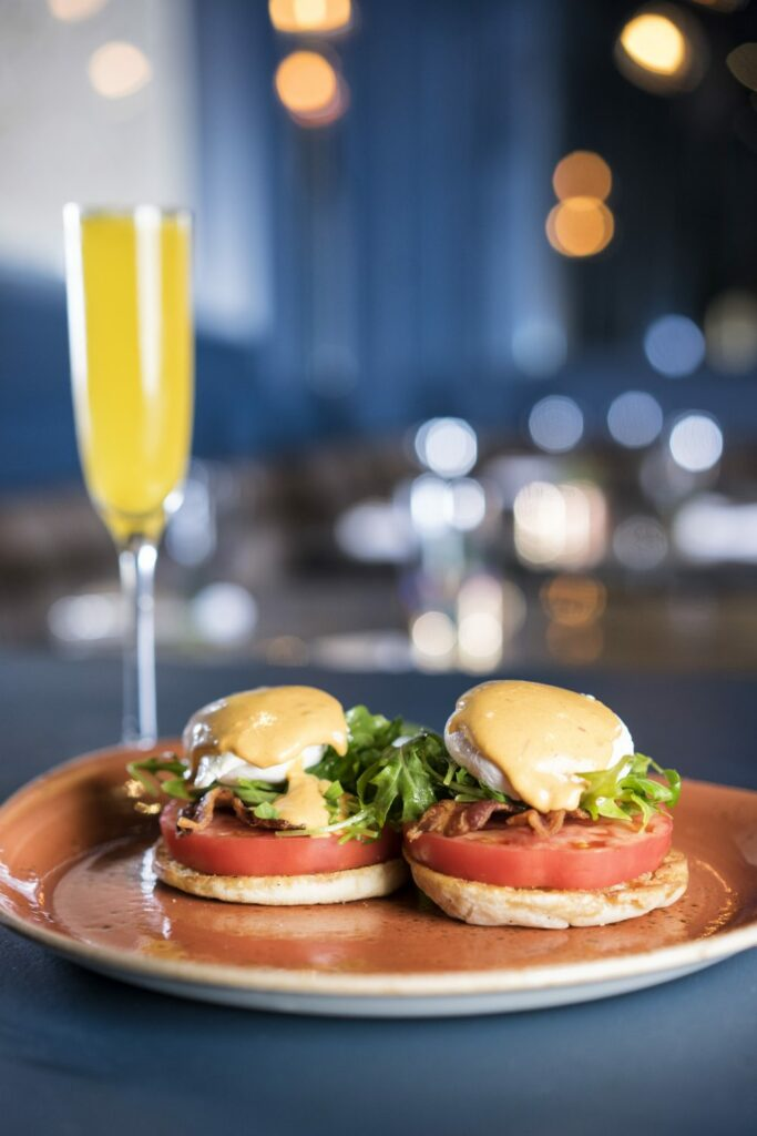 BLT Benedict at Artizen at The Camby