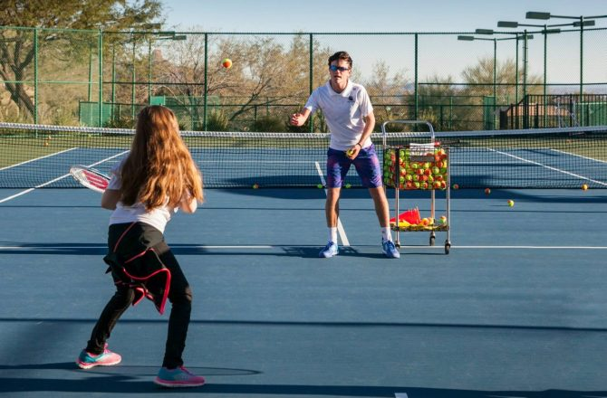 Play Tennis With a Pro at CopperWynd Resort & Club's Sip'N'Serve