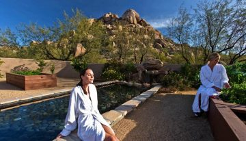Get Glowing for the Holidays at Boulders Resort & Spa