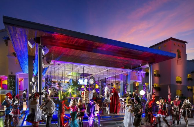 Zombies Invade The Fairmont Scottsdale Princess for 'The Nightmare on Princess Drive'