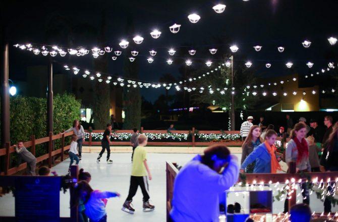 Tree Lighting & Ice Skating at The Wigwam