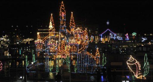 See the Award-Winning Light Show at Coeur d'Alene Resort This Holiday Season