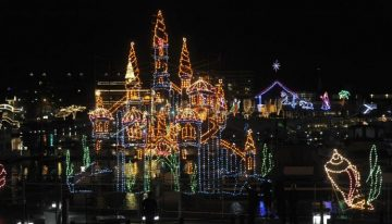 See the Award-Winning Light Show at Coeur d'Alene Resort This Holiday Season