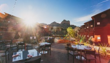 Valentine's Day Dinner Amongst the Picturesque Red Rocks of Sedona