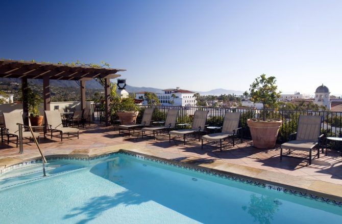 Canary Santa Barbara Offers In-Suite Yoga As Part of Health & Wellness Package