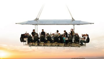 Dinner in the Sky (Literally!)