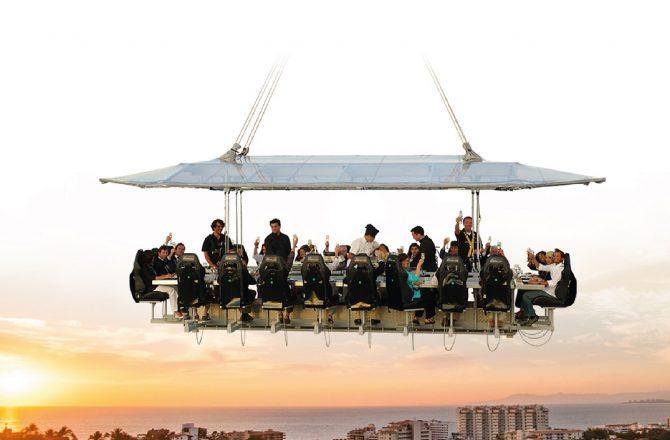 Dinner in the Sky (Literally!)