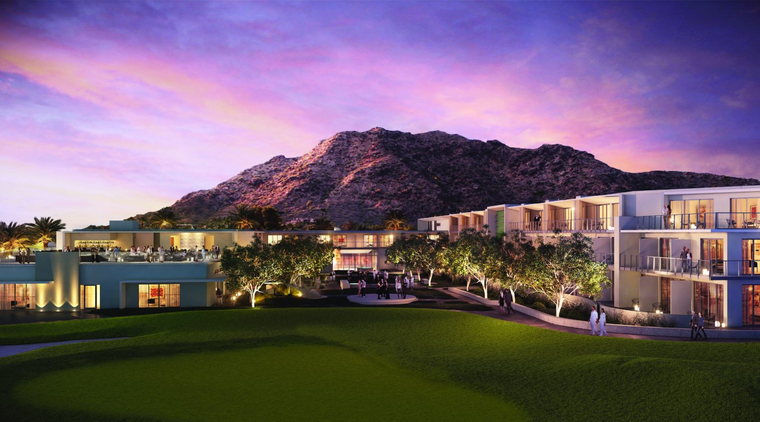 New luxury resort comes to paradise valley for Mountain luxury