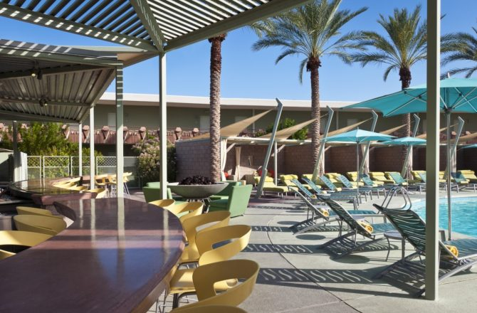 Hang By the Pool in Style at Hotel Valley Ho