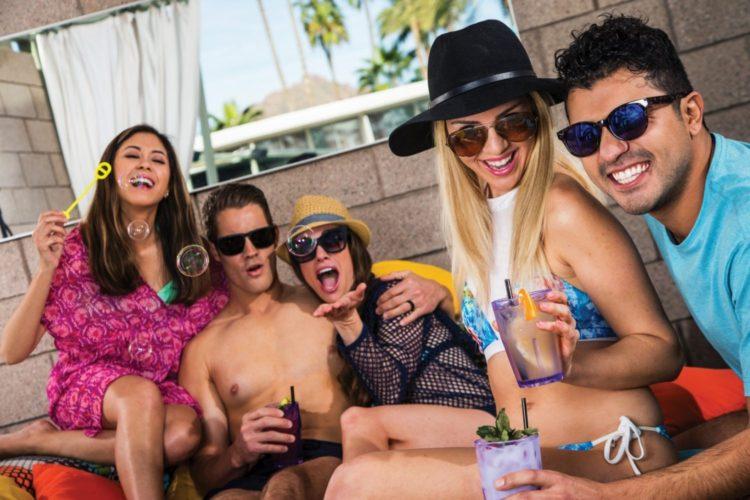 Hotel Valley Ho - OH Pool Cabana Cabana Lifestyle