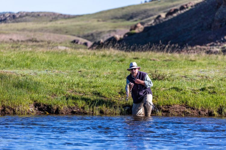 Fly fishing getaway to new mexico for Brazos river fishing