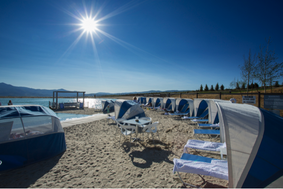 A Luxurious Private Beach Awaits In the Mountains at The Promontory Club in Park City