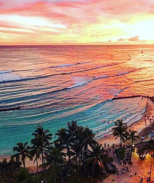 Waikiki Beach Marriott Resort Spa Instagram