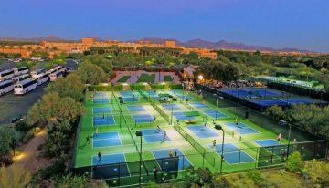 JW Marriott Desert Ridge Debuts Pickleball Courts