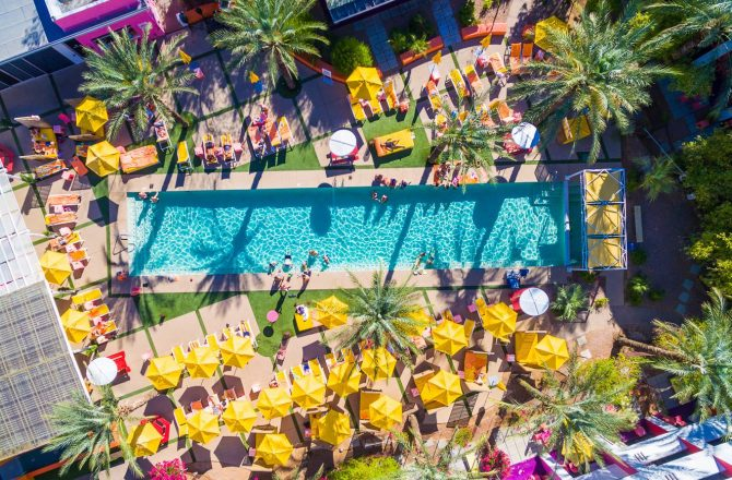 5 Hotels for the Hottest Pool Party Scene