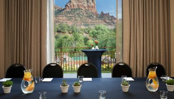 Take Business Meetings North to Sedona's Amara Resort