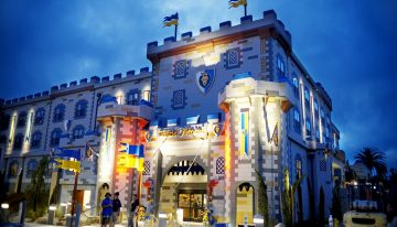 The First LEGOLAND Castle Hotel Opens in California