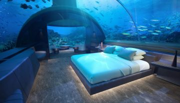 Sleep Under the Sea: World's First Underwater Villa Debuting in the Maldives
