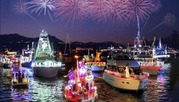 Newport Beach's Glittery Christmas Boat Parade Returns for 110th Year