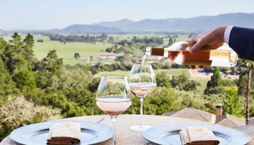 Rosé All May at Auberge Du Soleil in Napa Valley