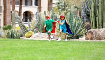 Summer Like a Superhero at Fairmont Scottsdale