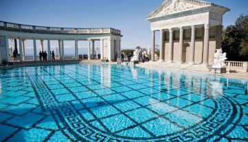 Rare Chance to Swim in Hearst Castle's Neptune Pool This Summer