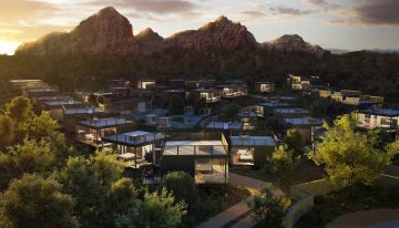 North America's First Landscape Hotel, Ambiente, to Open in Sedona Late 2020