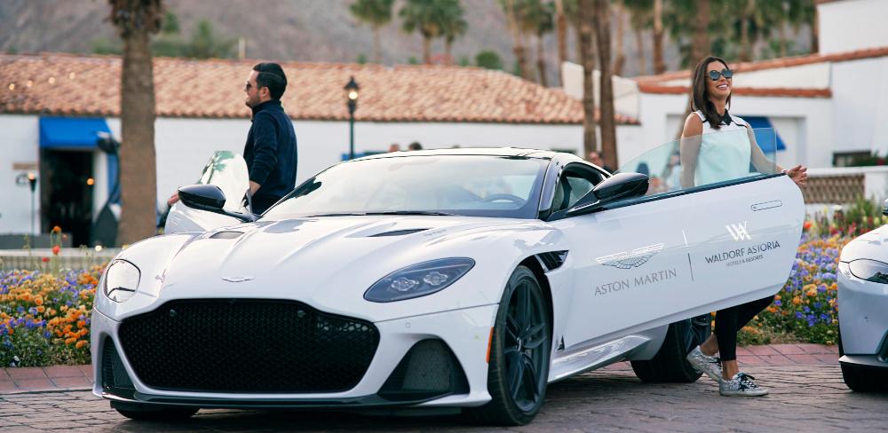Waldorf Astoria Las Vegas Launches Aston Martin Driving Experience
