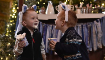 Deck the Halls at Great Wolf Lodge's Snowland Celebration