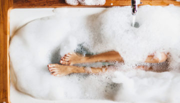 How to Create the Perfect Bath + Breathing Techniques