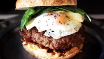 Recipe: Chorizo-Angus Burger