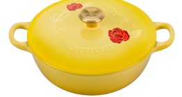 Le Creuset Unveils Limited-Edition Beauty and the Beast Soup Pot