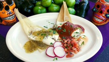 Recipe: Barrio Queen Green Chile Pork Tamales