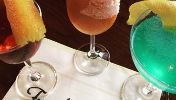New Cocktail Menu at Blue Hound Kitchen & Cocktails