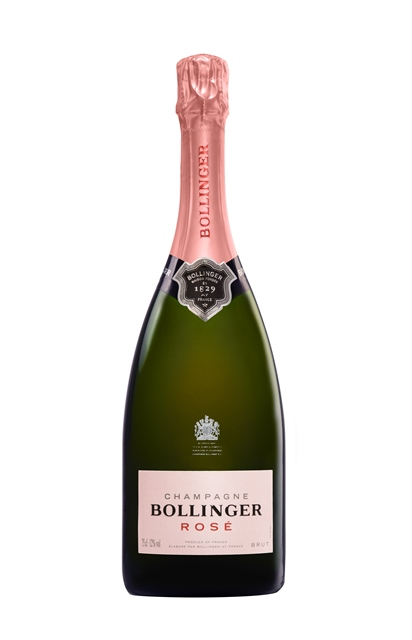 Bollinger Rosé HD bottle
