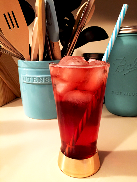 Bubbly Blueberry Ginger Tea