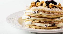 Recipe: Cannoli Pancakes for Mother's Day