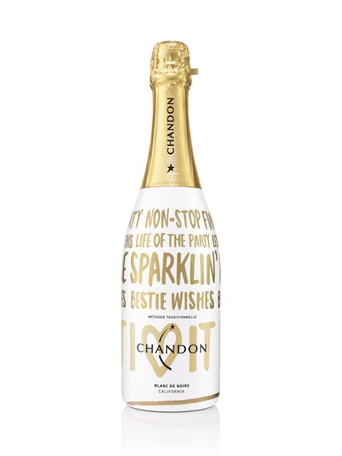 Chandon Holiday Bottle - High Res