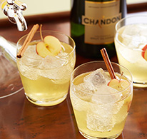 Chandon spiced apple punch